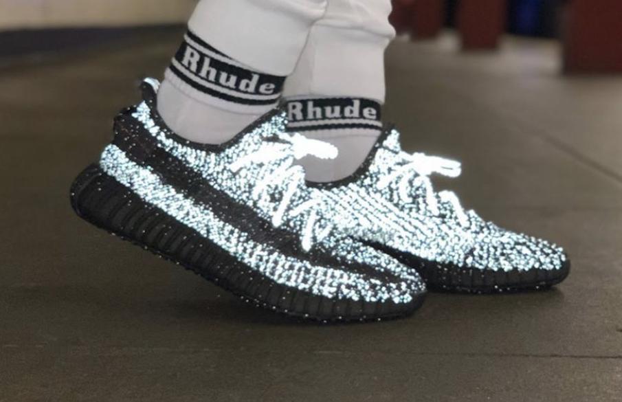 adidas yeezy boost 350 v2 black reflective price