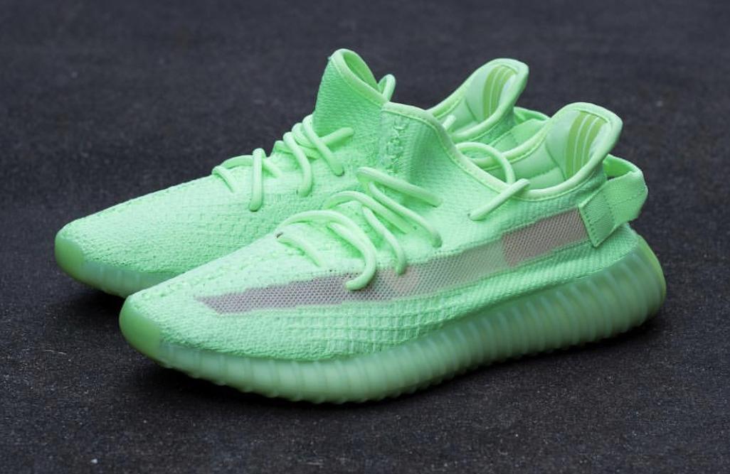 official photos f77dc c8092 adidas Yeezy Boost 350 V2 Glow In The Dark • KicksOnFire.com