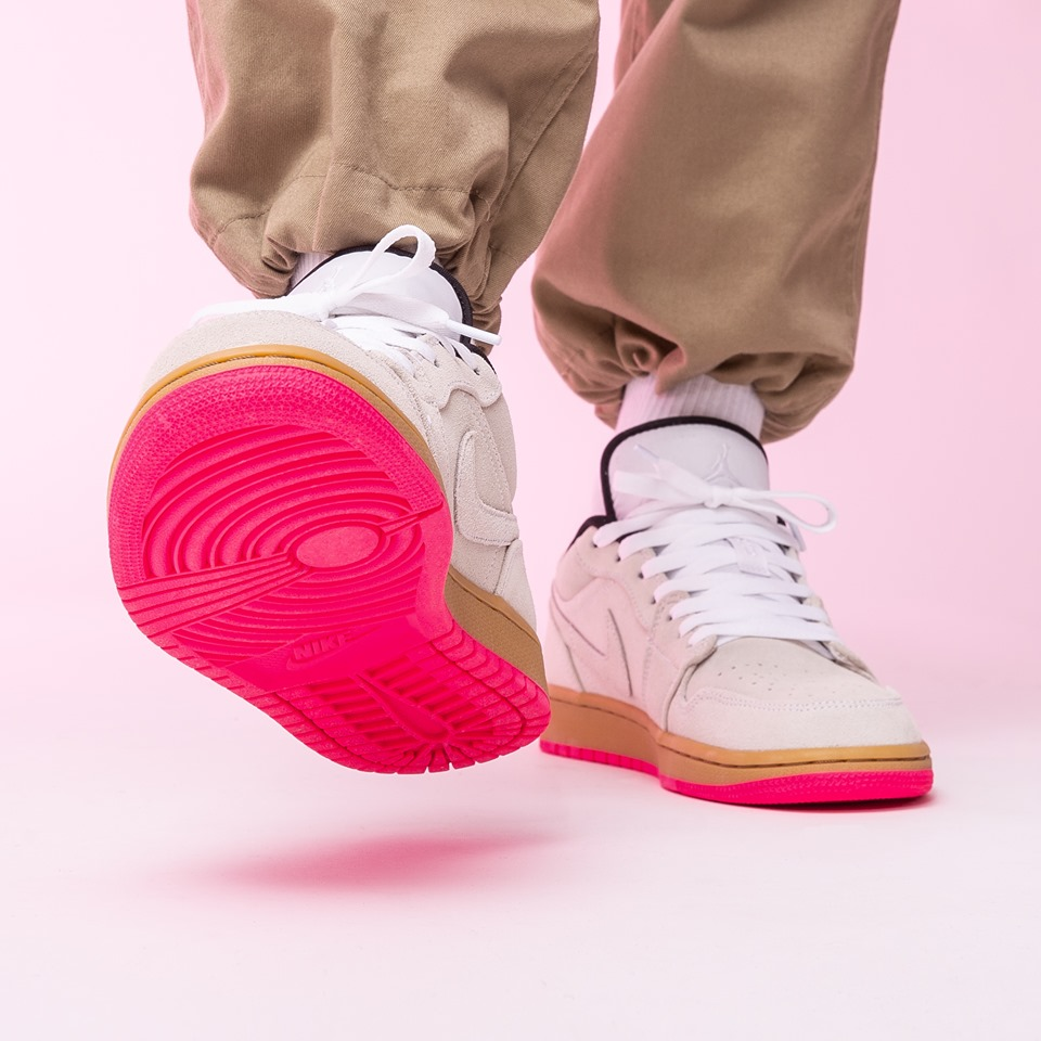 The Air Jordan 1 Low Gum Yellow Hyper Pink Is A Summer ...