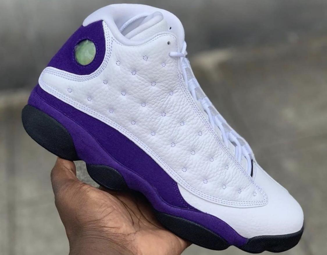 Air Jordan 13 Lakers Arriving Next