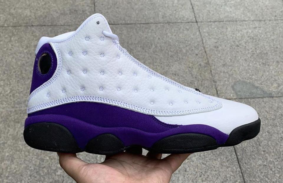 save off b4d8a 11ffe Air Jordan 13 Lakers • KicksOnFire.com
