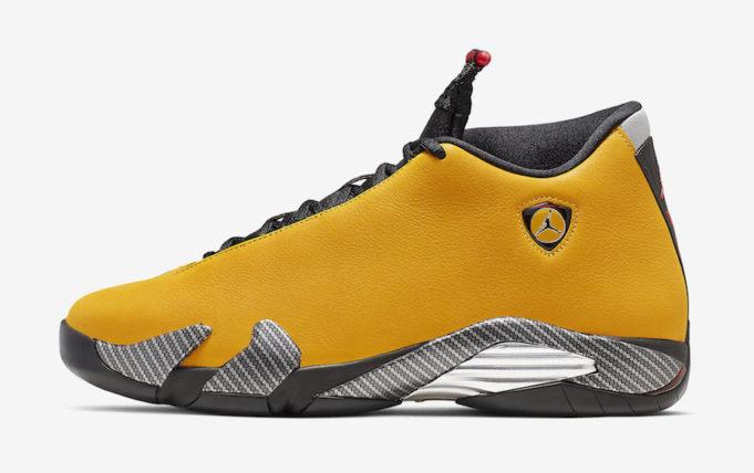 Air Jordan 14 Reverse Ferrari (Yellow Ferrari) • KicksOnFire.com