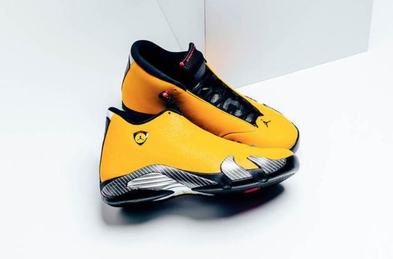 a98f3c40a9a Buy The Air Jordan 14 Reverse Ferrari Right Here • KicksOnFire.com