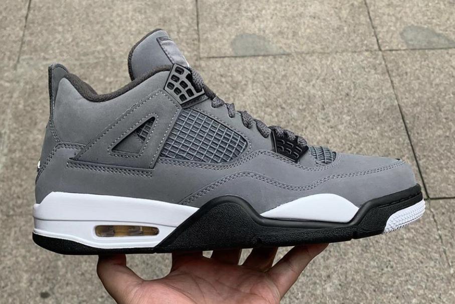 Is The Air Jordan 4 Cool Grey (2019