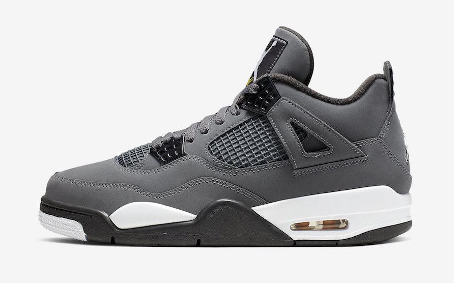 Air Jordan 4 Cool Grey (2019
