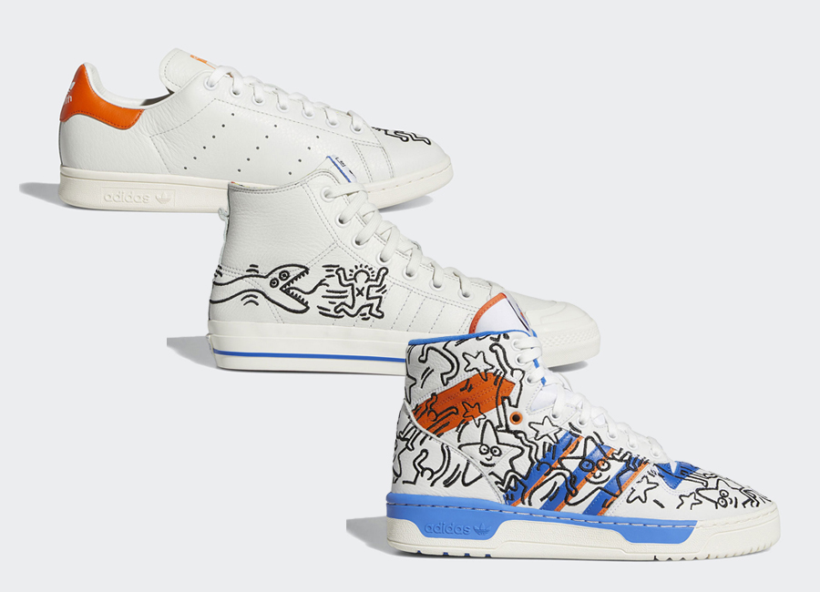keith haring x stan smith