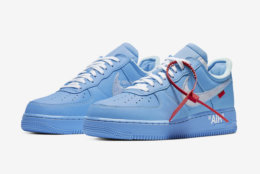 off white air force one release date