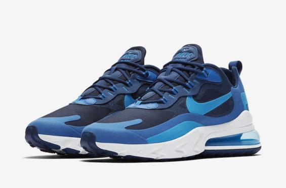 Nike AIR MAX 270 REACT Blue VoidBlue