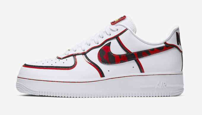 Look For The Wild Nike Air Force 1 '07 LV8 Dennis Rodman Now