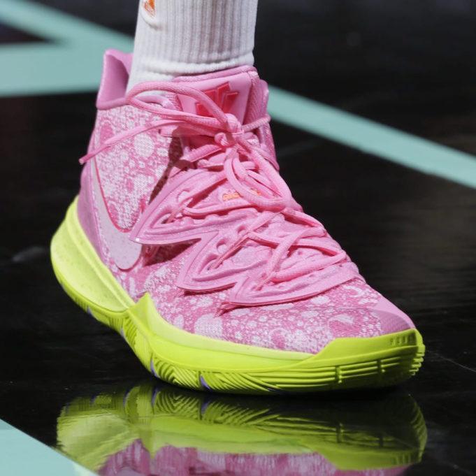 Spongebob shoes kyrie 5