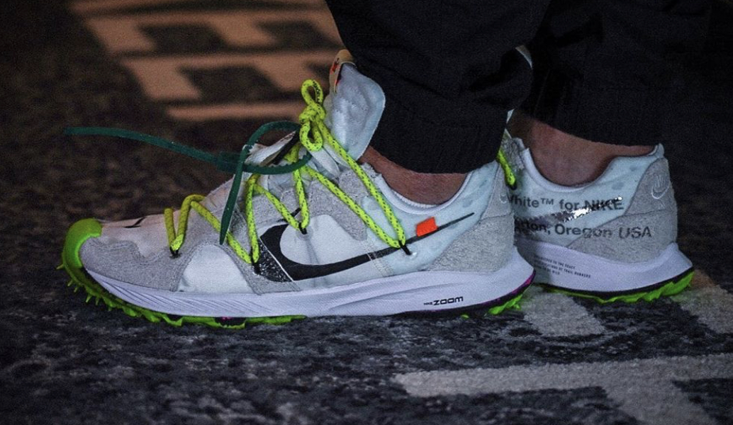 competitive price arrives new product OFF-WHITE x Nike Zoom Terra Kiger 5 White Arriving Later ...
