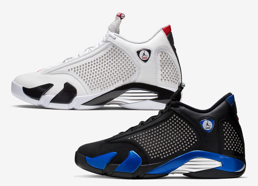 the latest 7a970 500cd Official Images: Supreme x Air Jordan 14 Pack (SNKRS Release ...