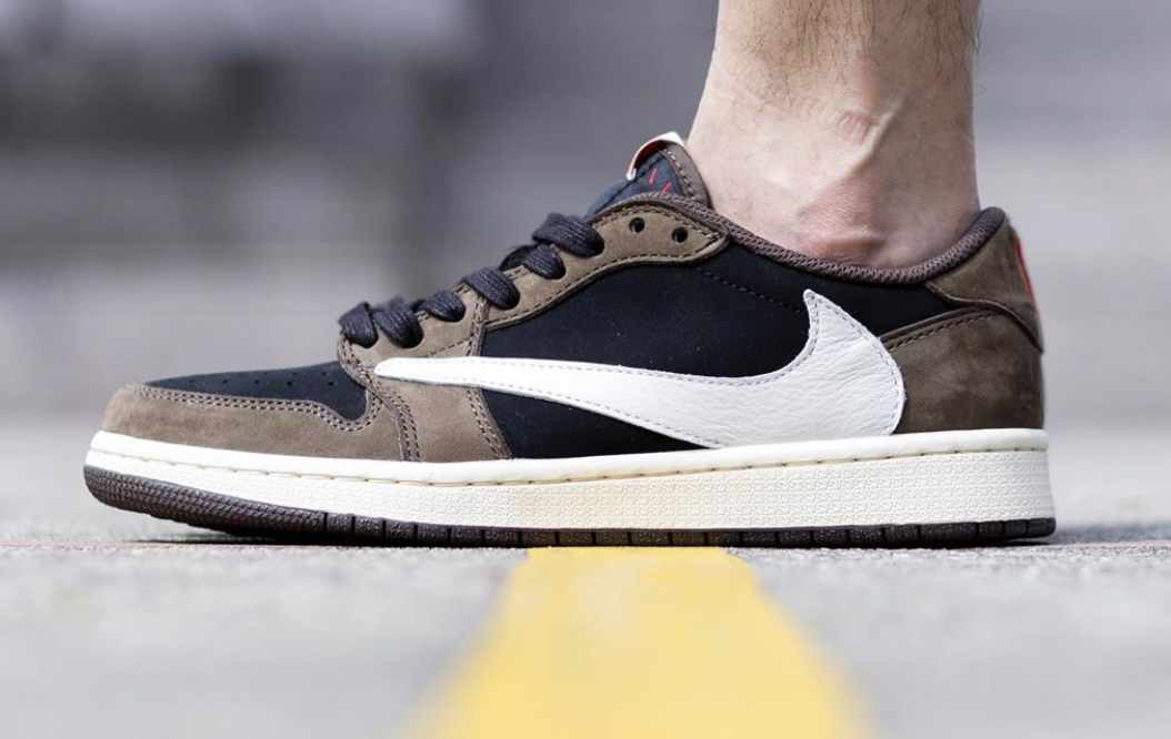 Are You Waiting For The Travis Scott x Air Jordan 1 Low Dark
