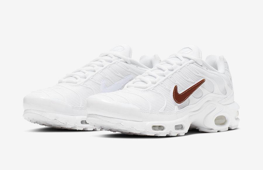 Coming Soon: Nike Air Max Plus White Removable Swoosh • KicksOnFire.com