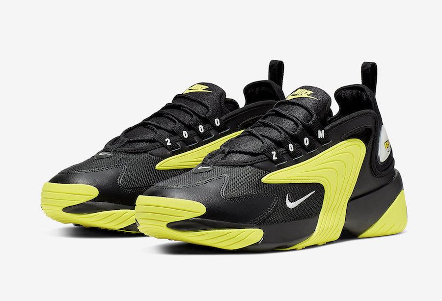 Nike Zoom 2K Black Dynamic Yellow