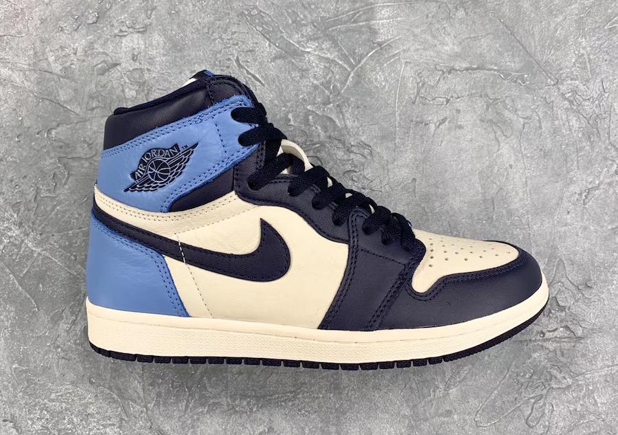 Release Date For The Air Jordan 1 Retro High OG Obsidian ...