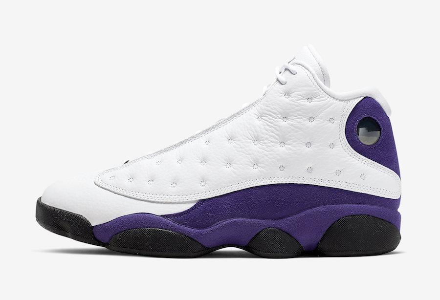 save off 47bfd 76430 Air Jordan 13 Lakers • KicksOnFire.com