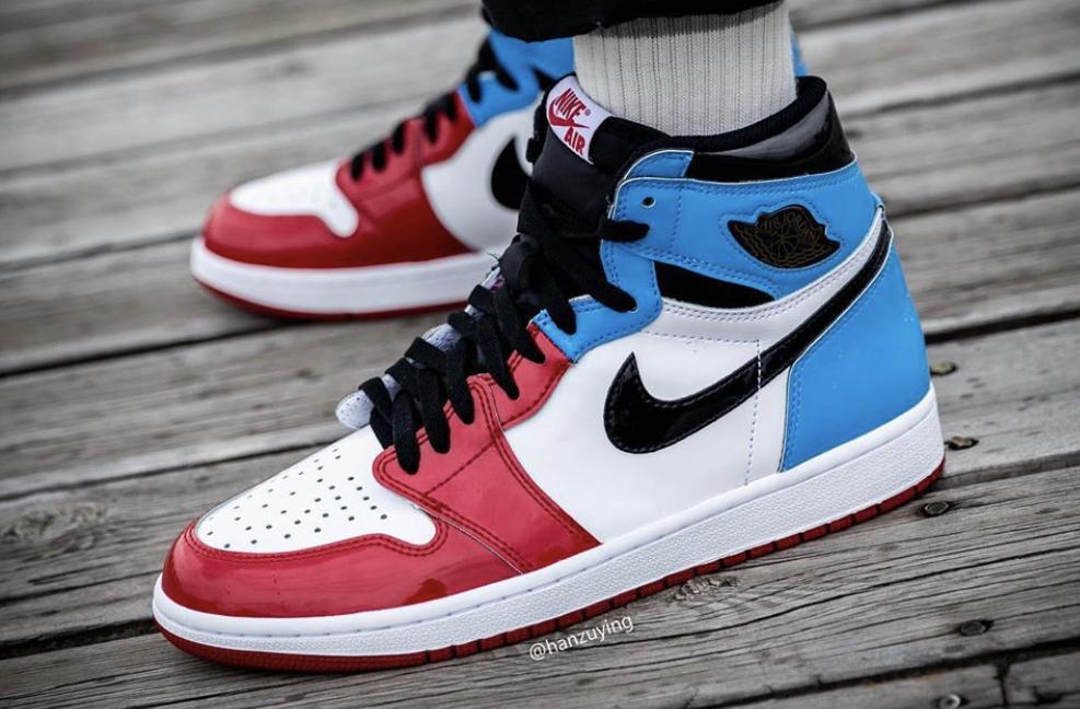 UNC & Chicago Vibes Cover The Air Jordan 1 Retro High OG Fearless •  KicksOnFire.com