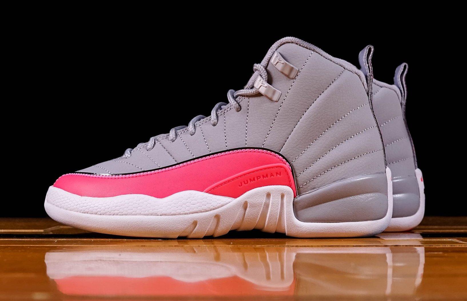 online retailer 7f8d6 9de3f Jordan 12 GS Grey Pink (Racer Pink) • KicksOnFire.com