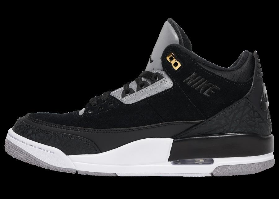 buy online 22ee3 5f3f3 Air Jordan 3 Tinker Black Cement • KicksOnFire.com