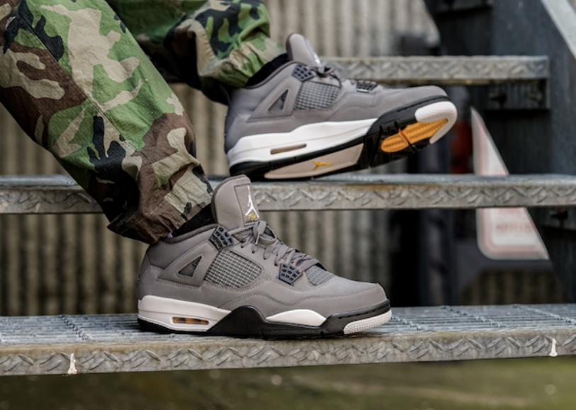 sale retailer e932b f7e03 Air Jordan 4 Cool Grey (2019) • KicksOnFire.com
