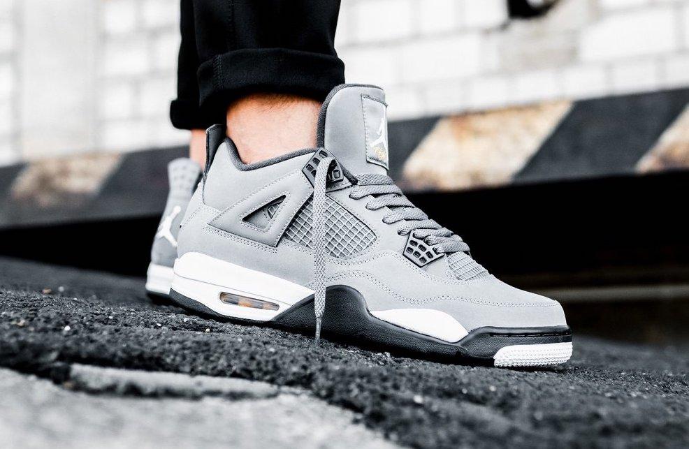 revendeur 69d30 205b6 Air Jordan 4 Cool Grey (2019) • KicksOnFire.com