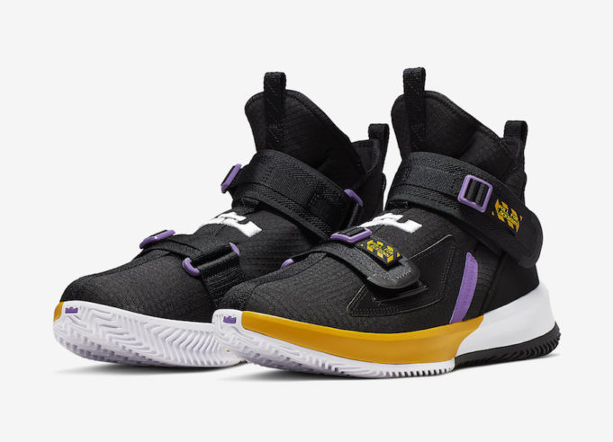 finest selection 729ec 1bf1c Coming Soon: Nike LeBron Soldier 13 Lakers • KicksOnFire.com