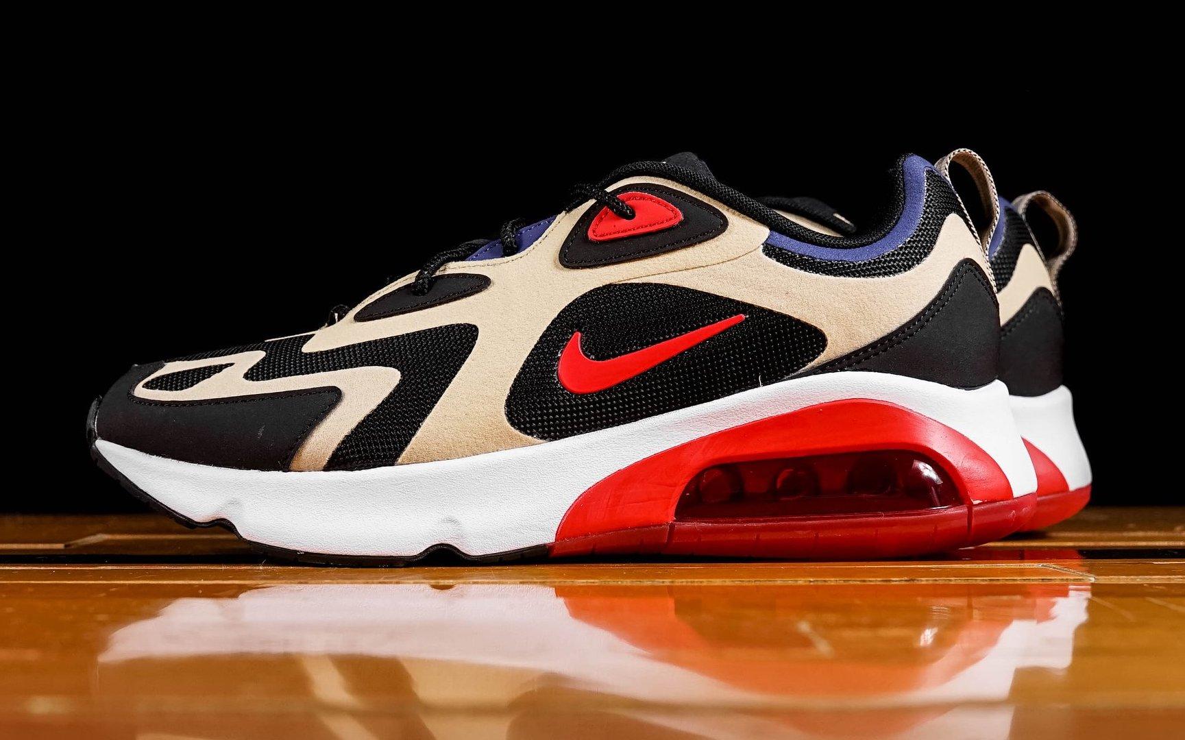 Nike Air Max 200 Team GoldUniversity Red | HYPEBEAST
