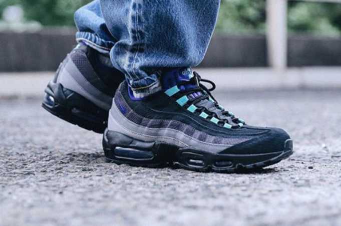 Look Out For The Nike Air Max 95 LV8 Black Grape