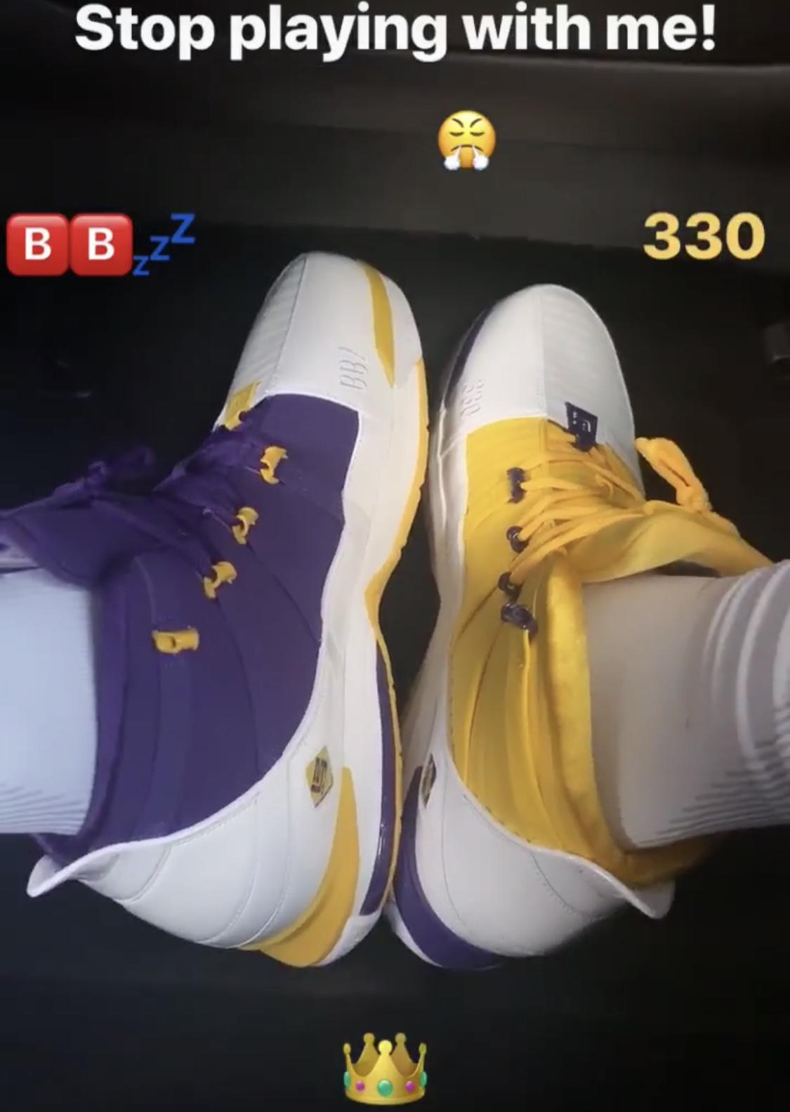 Nike Zoom LeBron 3 Lakers