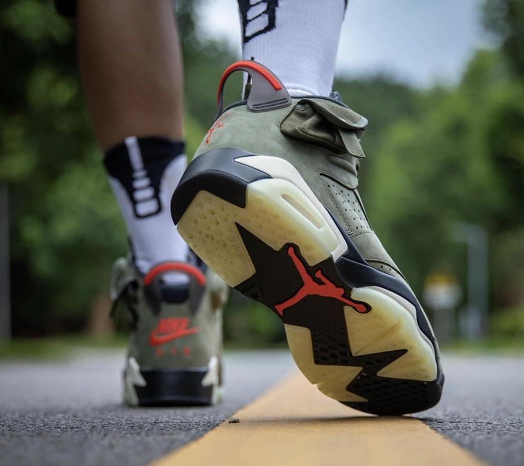 united kingdom meet newest collection Here's How The Travis Scott x Air Jordan 6 Looks On-Feet ...