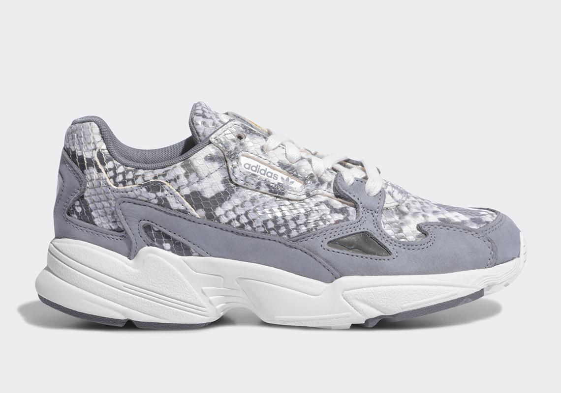 Release Date Adidas Wmns Falcon Grey Python Kicksonfire Com