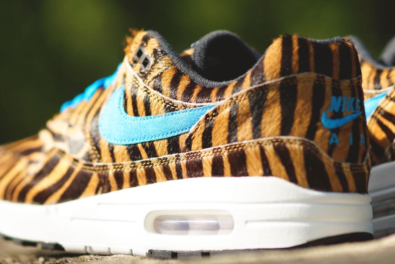 atmos x Nike Air Max 1 Tiger (Animal Pack 3.0) Dropping