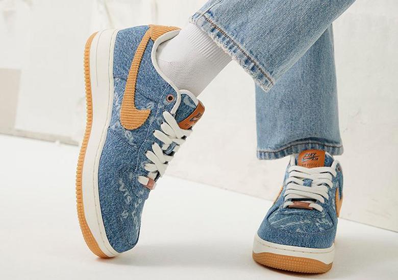 dos semanas Loza de barro Ambientalista  Levi's x Nike By You Collection To Debut Next Week • KicksOnFire.com