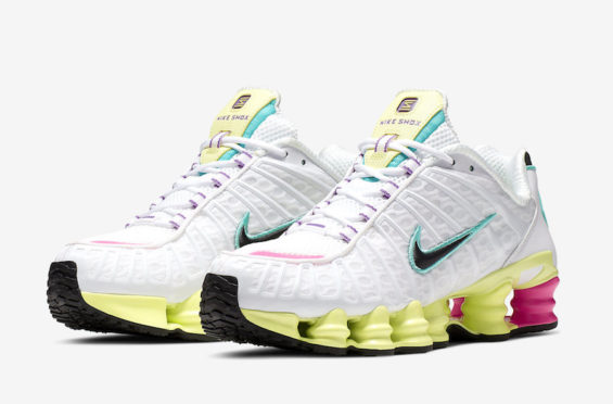 This Women's Nike Shox TL Comes Covered In Pastel Tones
