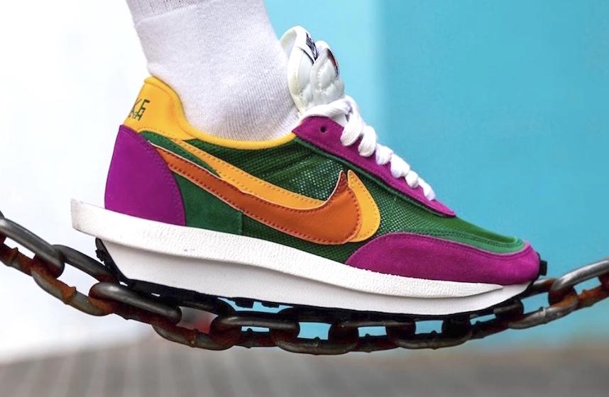 italiano Jarra Establecimiento  sacai x Nike LDWaffle Pine Green Debuting In September • KicksOnFire.com