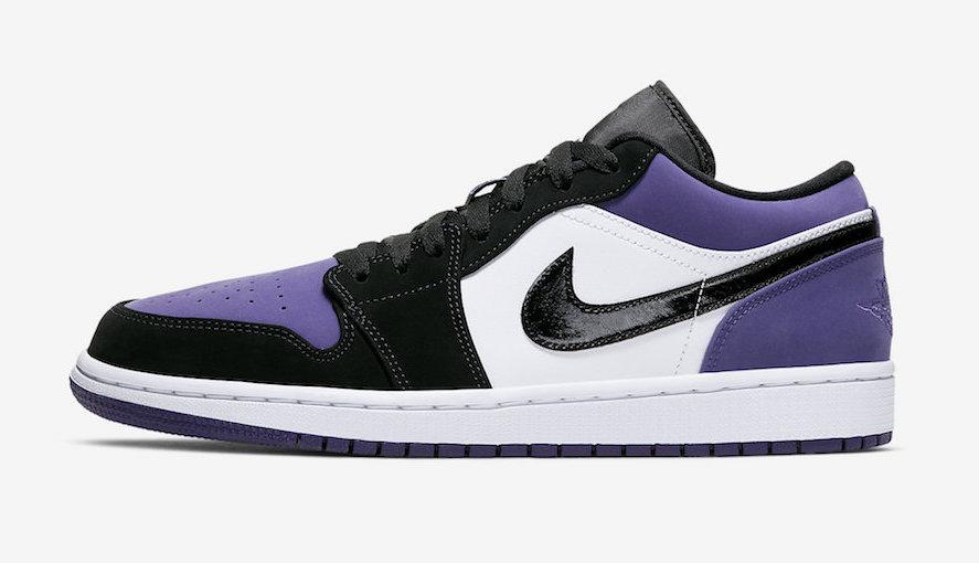 Look Out For The Air Jordan 1 Low Court Purple • KicksOnFire.com
