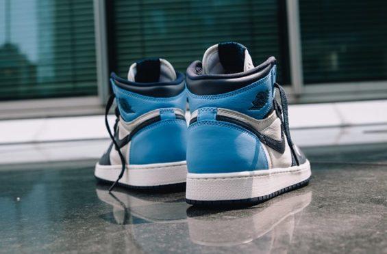 Air Jordan 1 Retro High Og Obsidian University Blue Kicksonfire Com