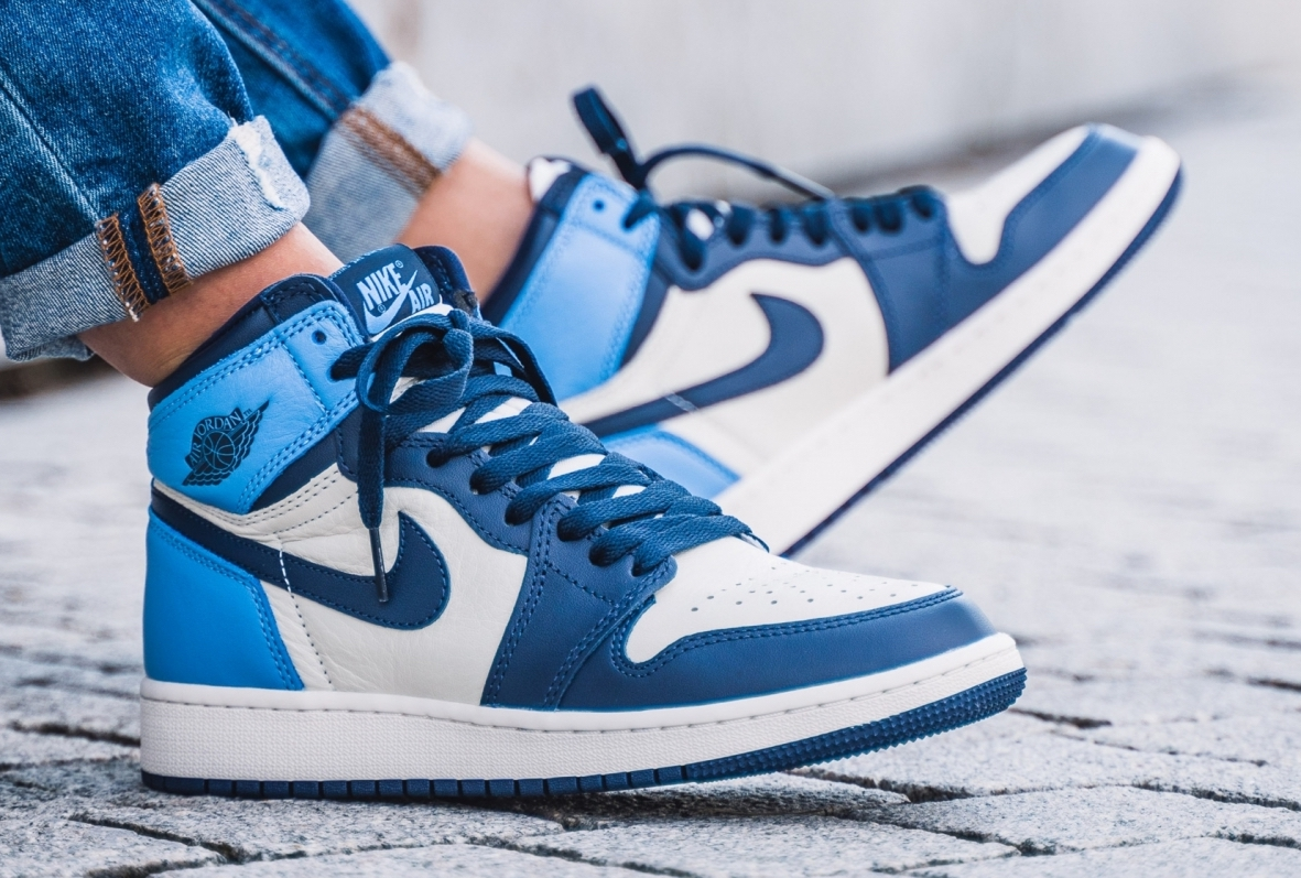 air jordan 1 retro high og obsidian gs