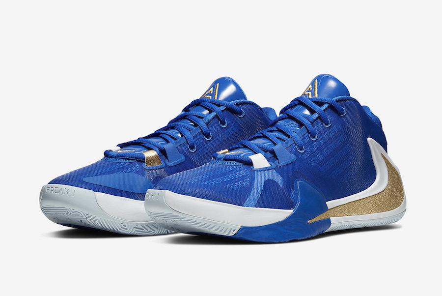 Release Date Nike Zoom Freak 1 Photo Blue Kicksonfire Com
