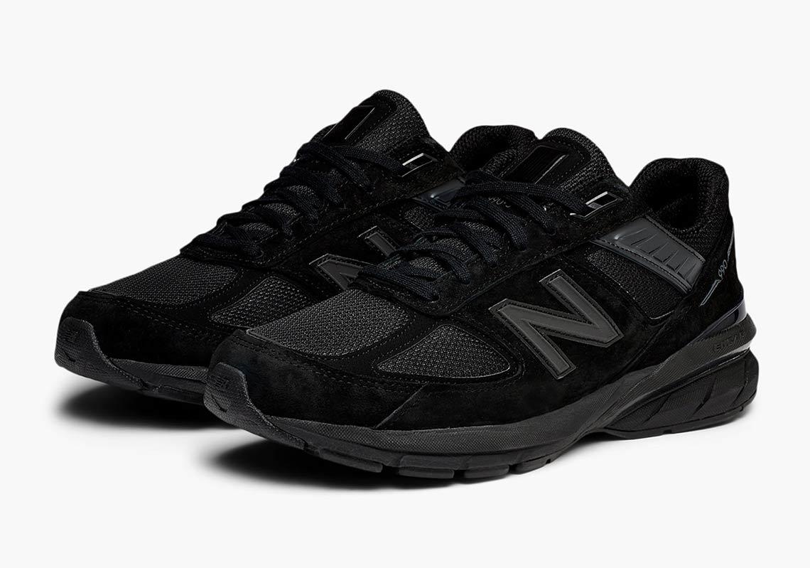 The New Balance 990v5 Goes Triple Black