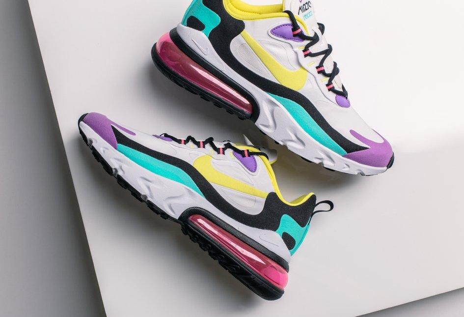 Nike Air Max 270 React Bright Violet Arriving This Week