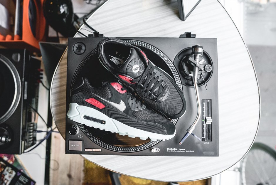 The Nike Air Max 90 Vinyl Is Ready For The Turntables • KicksOnFire.com