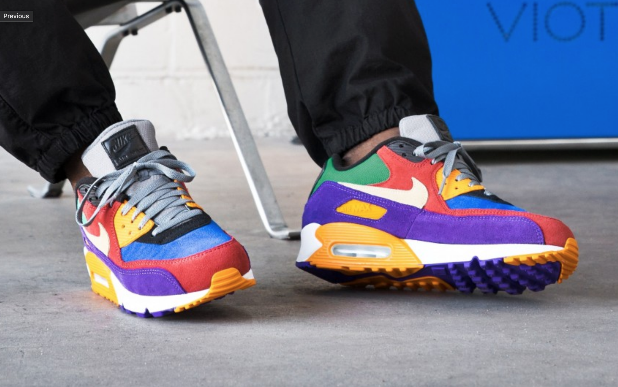 Get The Colorful Nike Air Max 90 Viotech Early Here