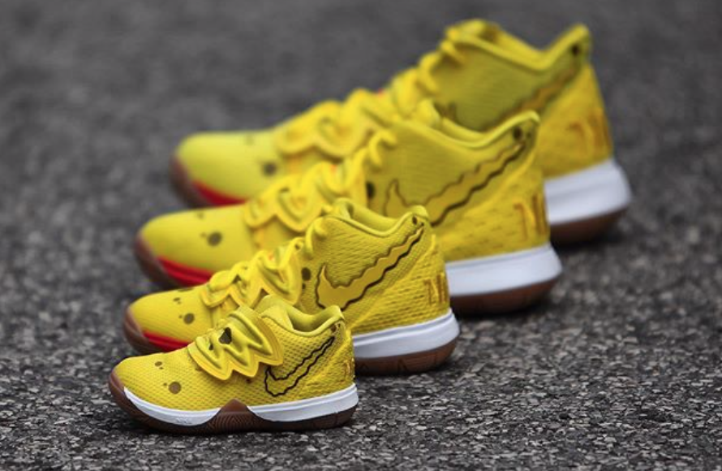 Get Ready For The Nike Kyrie 5 SpongeBob SquarePants