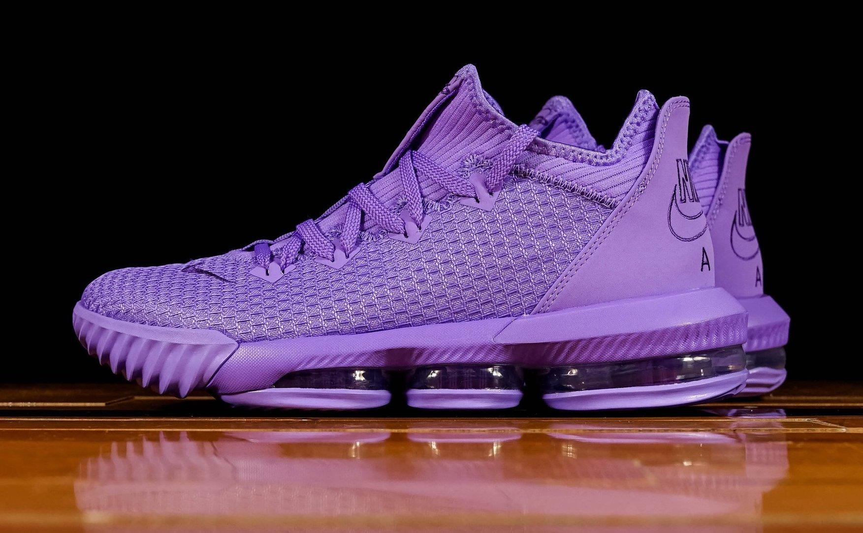Nike LeBron 16 Low Atomic Purple Dropping Next Week • KicksOnFire.com
