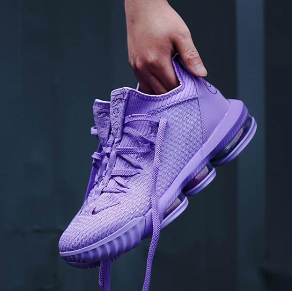 nike lebron 16 low purple wholesale