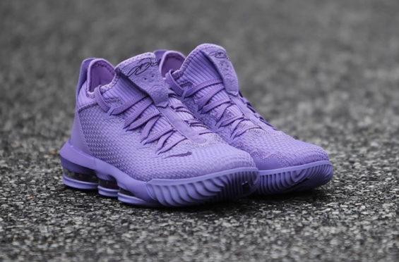 Nike LeBron 16 Low Soft Pastel Purple