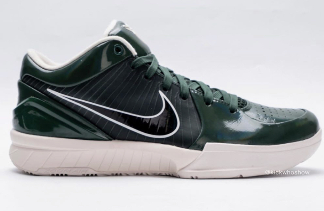 best sneakers 2d989 a0944 UNDEFEATED x Nike Kobe 4 Protro Fir (Dark Green) Dropping ...