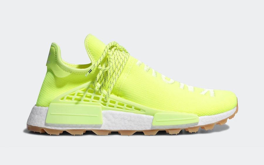 Release Date: Pharrell x adidas NMD Hu Gum Pack • KicksOnFire.com